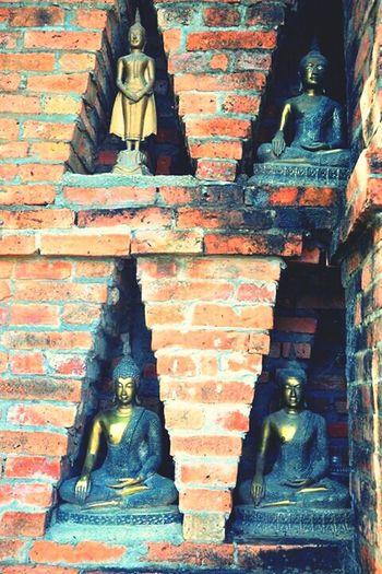 Buddhas Temple Temple Decoration Sukhothai Sukhothaihistoricalpark Tailand