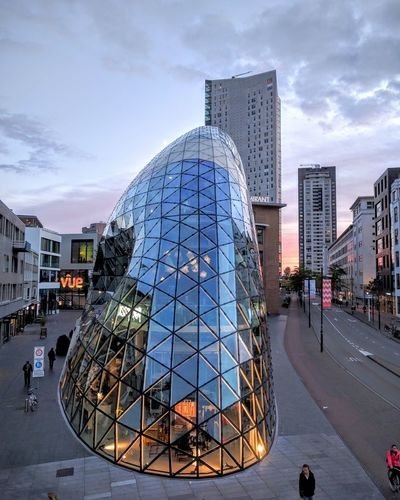 Architecture Building Exterior Built Structure City Modern Sky Office Building Eindhoven Design Dutchdesign Blob Thenetherlands Netherlands First Eyeem Photo