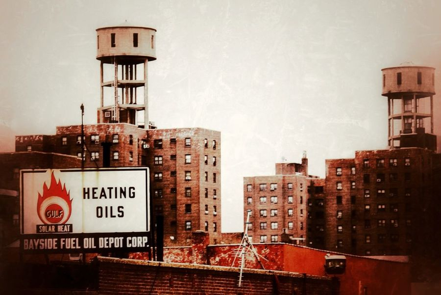 Signs Vintage Signs NYC Water Towers