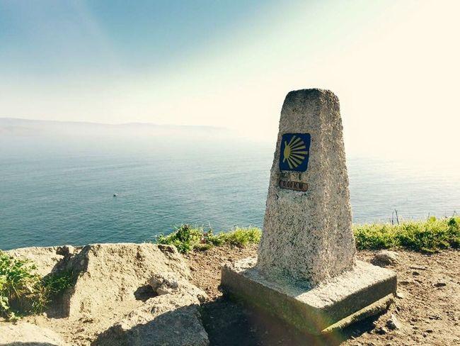 Findelcamino Finisterre Galicia, Spain IPhoneography Iphone 6 Theendoftheworld Enjoying Life Sea IPhone Galicia Sea And Sky