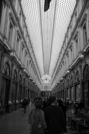 Architecture Brussels Europe Galleries Indoors  Mall Shop Shopping