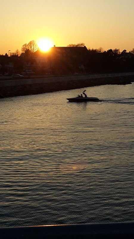 Sunset Silhouette Outdoors Sea Nautical Vessel No Camera Effect No Edit By App Just Pure Copenhagen Habour
