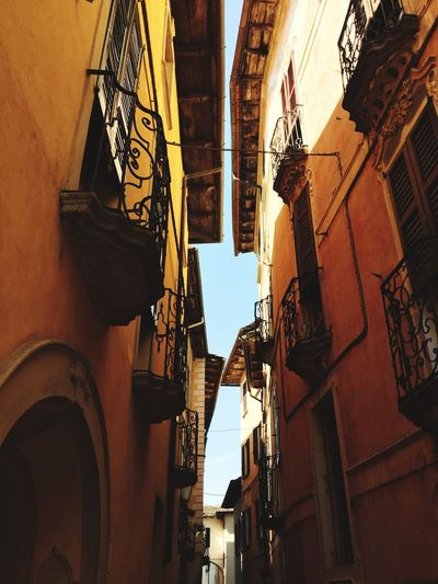 Amazing Orta Italy Orta S.Giulio Built Structure Building Exterior Architecture Building Low Angle View No People Day Arch