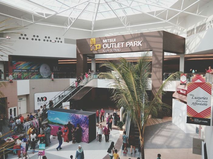 Mitsui Outlet Park Klia Sepang Opening Malaysia Mall Shopping ASIA