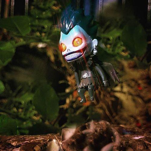Ryuk, a misunderstood death God. Ryuk DeathNote Japaneseghoststories Deathgod Toyptoyphotography Toyslagram Toyunion Justanothertoygroup Toyoutsiders Zifu_toys Tgif_toys