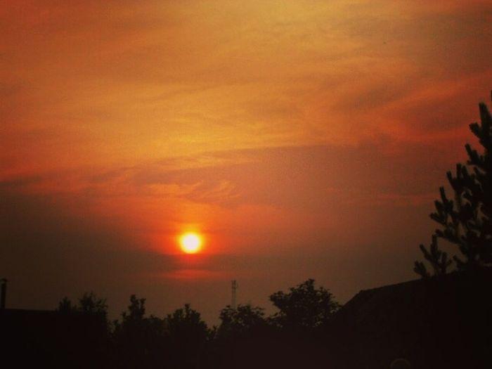 лето дача красотаприроды Закат Cолнце вотонокакоенашелето