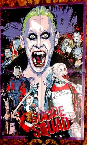 Male Likeness Female Likeness Human Representation Taking Pictures Taking Photos WorstHeroesEver Open Your Mouth Worst Heroes Ever Posterart SuicideSquad Suicide Squad Poster Cinema Poster Poster Art Posters Posterart Poster Collection Check This Out Posterporn Movieposters Movie Poster Movie Posters Postercollection Openyourmouth Movies MOVIE Cinema Posters Harley Quinn Harleyquinn Say Ahh