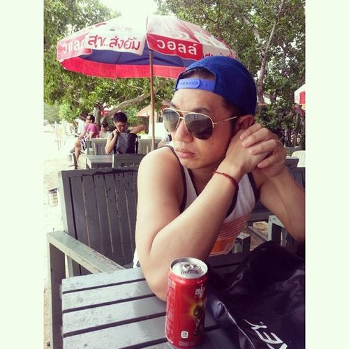 Take a Break with Lunch @ Phi Phi Don and prepare for Next Program in Sunburn Time สุขส่งยิ้ม วอลล์ Cocacola โค้ก