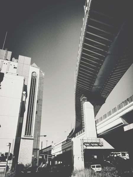 Highway Life Bw Street Bw Monochrome Built Structure Architecture Sky Building Exterior City