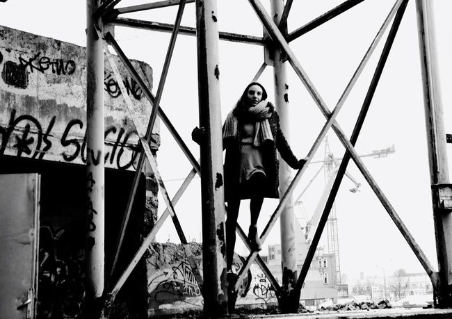 People Of EyeEm Picmonkey Blackandwhite Black And White B&w In The Moment Looking At Camera Beautiful Girl People Photography People Gent Belgium Deserted Factory Streetphotography OpenEdit Eye For Photography Exposure Nikon D3300 Nikon Photography Nikon