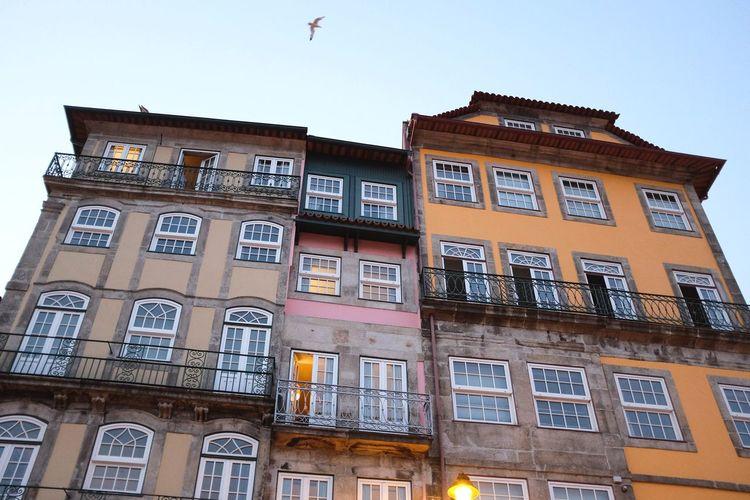 Porto - Ribeira Porto Porto Portugal 🇵🇹 Low Angle View Architecture Window Building Exterior Built Structure Façade No People City