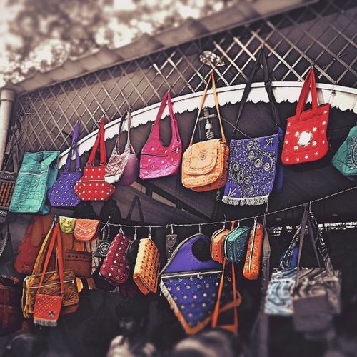 'Pockets full of Happiness ' Happiness Happi Gals Pocket_pretty Pocket  Bag 🎒 Colorful Colorfulbag Ladiesfashion LadiesChoice Ladieshandbags Ladieshappiness India Bangalore Lalbhagh Red Pink Purple Yellow Green Colorsplash InstaEdits Instamood Instalove Happy girlsweekend