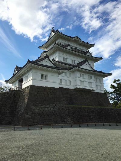 odawara castle Odaiba Tokyo Odawara Odawara Castle / Japan Castle Architecture Built Structure Cloud - Sky Building Exterior Sky Building Nature EyeEmNewHere