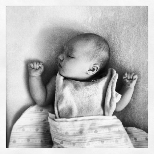 My yoga teacher told me to position my hands like this when I feel anxious. It's very comforting...babies naturally do it. Anxietytips