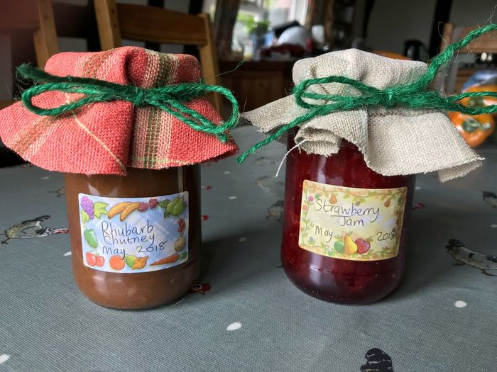 Homemade Preserves Jars  Chutney Jam Preserves No People Close-up Table Still Life Indoors  Day Focus On Foreground Food Small Business Heroes