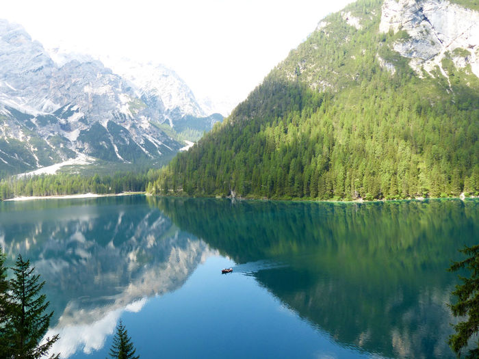 Pragserwildsee Water_collection Watercolor Water Reflections South Tyrol Landscape_photography Mountain View