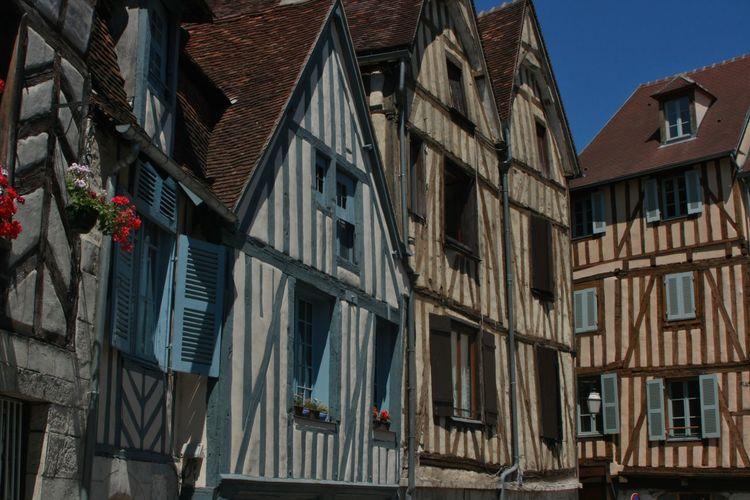 Ancient Fachwerkhäuser La France MedievalTown Wood Architecture Building Exterior Built Structure