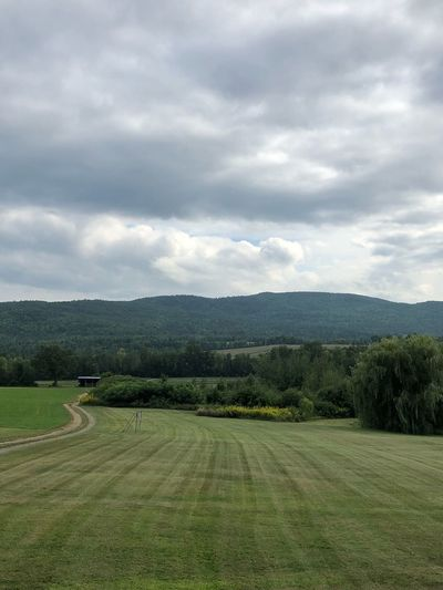 Mountains Upstate New York Cloud - Sky Plant Sky Beauty In Nature Tree Tranquility Tranquil Scene Scenics - Nature Environment Landscape Field Grass Outdoors