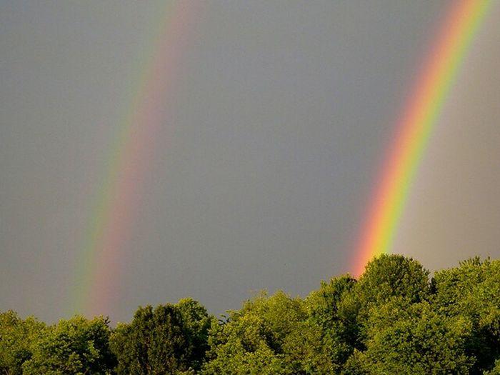 Rainbows Rainbow Sky Rainbow_wall Rainbow🌈 Double Rainbow Rainbow Colors Rainbow RainyDay Rain Sun_collection, Sky_collection, Cloudporn, Skyporn