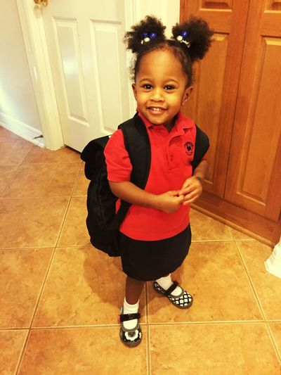 My Niece ❤ First Day Of School Pre-K Saoirse
