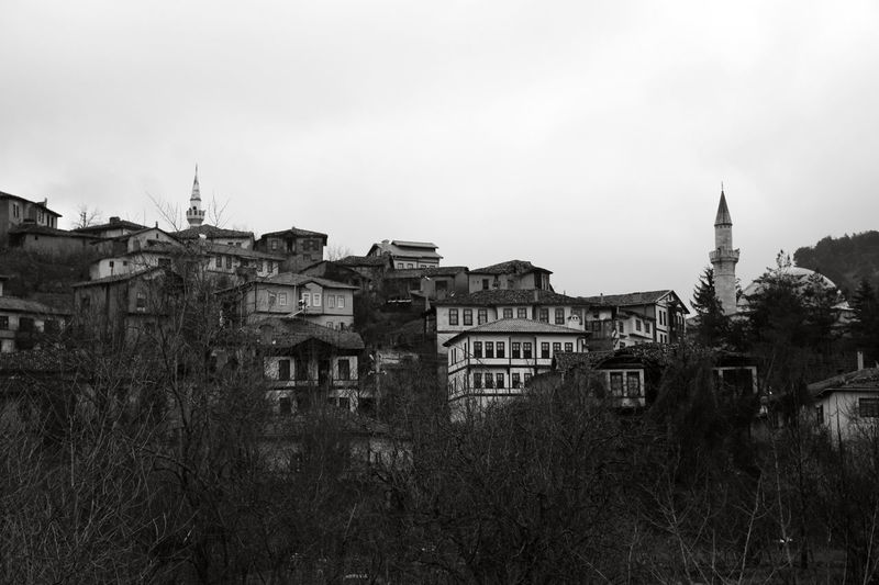 Abandoned Architecture Blackandwhite Building Building Exterior Built Structure Cittaslow City Clear Sky Copy Space Day History House Monochrome Nature No People Old Outdoors Plant Residential District Ruined Sakarya Sky Taraklı The Past