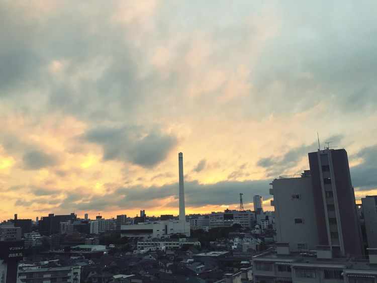 Fiery sky Sunset Sunset_collection Meguro EyeEm Best Shots - Sunsets + Sunrise Skyporn Clouds And Sky Sky Collection Sky Collection