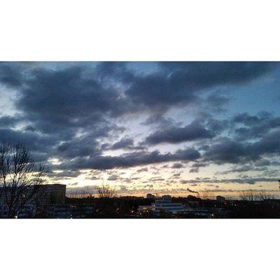 Good Morning :-D Morning Sunrise Goodmorning Sky weather nature clouds nofilter beautiful amazing photo sunny sunshine sunday weekend