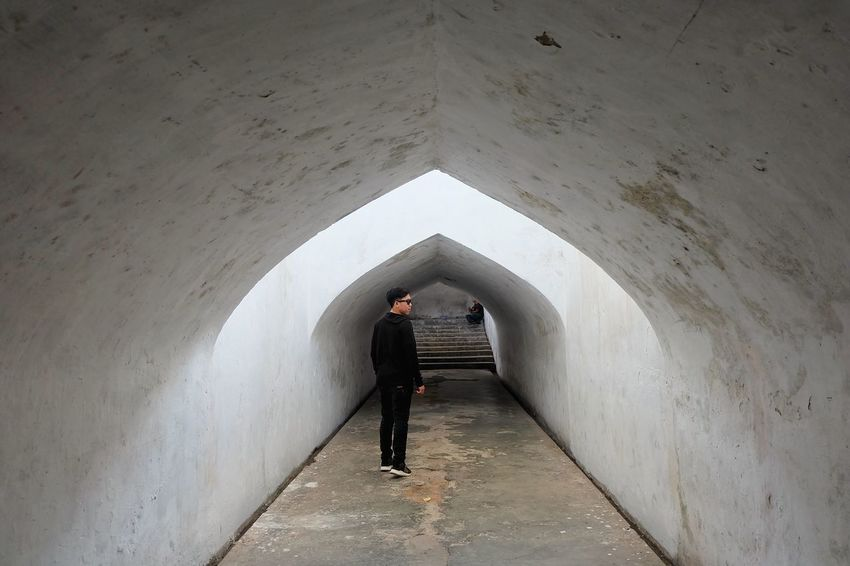 Terowongan taman sari Tamansariyogyakarta Indonesia_allshots Jogjakarta Full Length One Person Adult One Man Only People Day Adults Only Only Men Standing Men Indoors  Young Adult Budayaindonesia