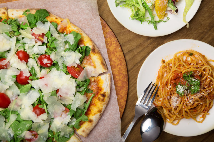 RUCOLA PIZZA with Pasta Pasta Pizza