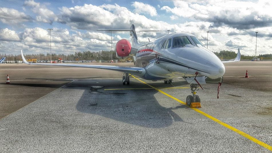 Citation Airport Apron Turbine Taking Photos Winglet Sky And Clouds Aircraft Control TowerSamsungphotography Showcase March Comercial Airline Streamlined Spring 2016