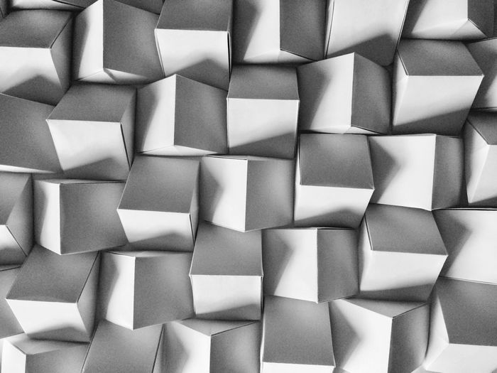Paper Art Grey Getting Inspired Geometry EyeEm Selects Full Frame Backgrounds Repetition Abstract Pattern No People Directly Above Large Group Of Objects Close-up Creative Space The Still Life Photographer - 2018 EyeEm Awards The Creative - 2018 EyeEm Awards