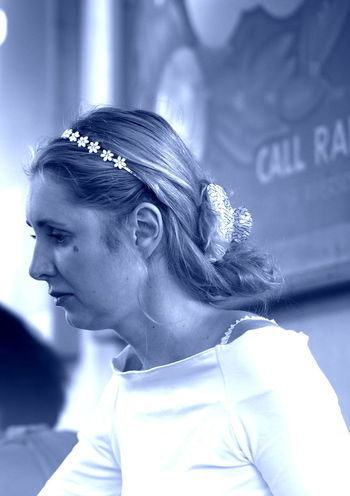 I must leave now Close-up Good House Wife Headshot Leisure Activity Lifestyles LONDON❤ Portrait Silence Silvia Sunday Mass White White White!