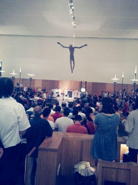 Father's Day Mass Church Sunday Mass Praising The Lord First Eyeem Photo
