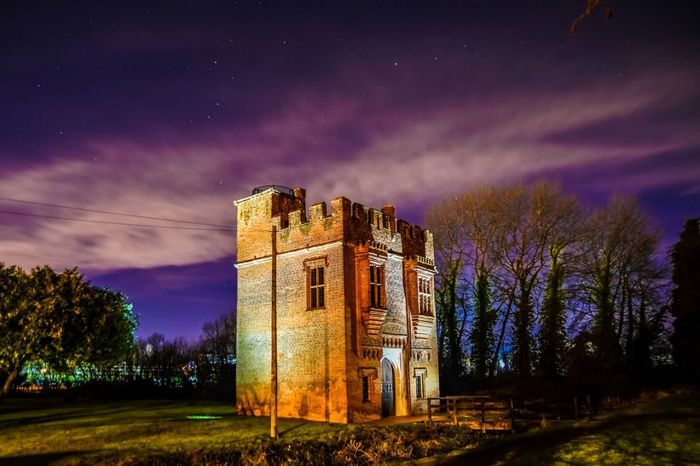 THE TOWER Building Exterior Castle Building Historical Building Dramatic Sky Night Star - Space Abandoned Old Ruin Ancient Spooky Mystery Cloud - Sky Constellation Sky Architecture Outdoors Tree Astronomy