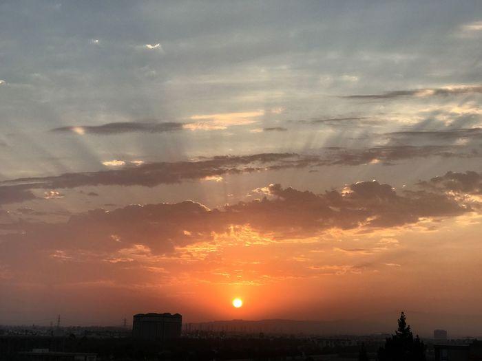 Sun Sunrise Rays Of Light