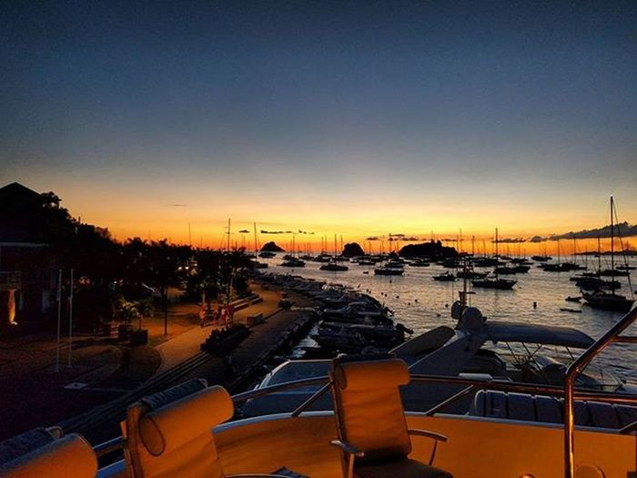 No filter ♥‿♥ Nofilter Notabadview Sunset_madness Calmwaters Caribbeanlifestyle Privateyacht Myyard Homeawayfromhome
