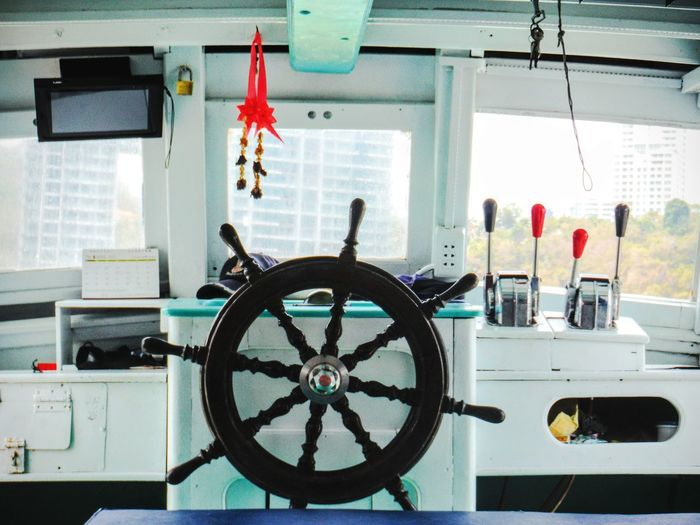 No men on deck Captains WheelControl Room On A Boat Ship Wheel Thailand Travel Pattaya Thailand Still Life Still Life Photography Bright Positive Steering Wheel Ship On A Ship Going On A Boat Ride Going To An Island Out To Sea Pattaya, Thailand Thailandtravel Ship Boat Trip Boat Ride Boat Steering Wheel Empty No People