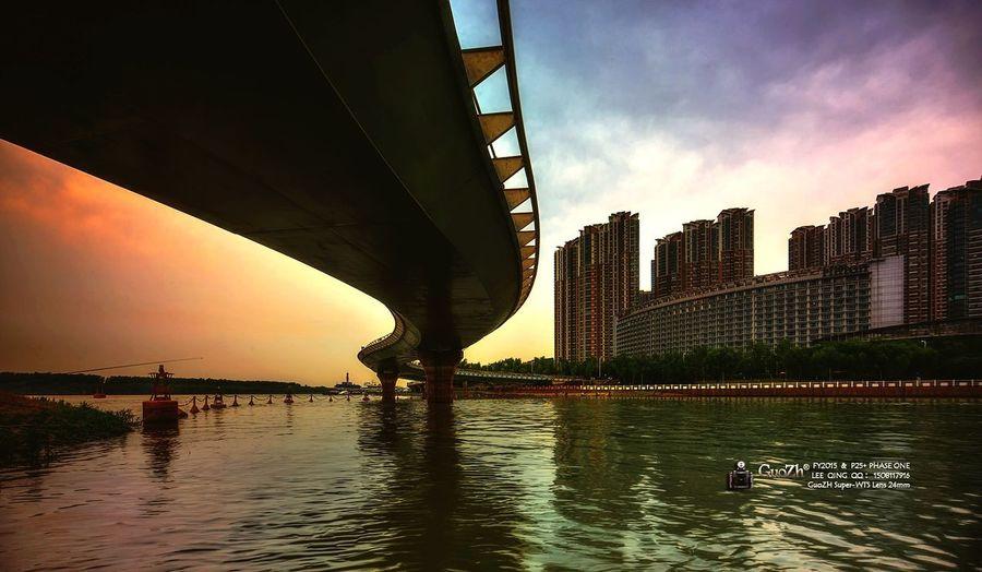 City Clear Sky Sky 風景 建築 燈光 攝影 河西 夕陽 旅遊 夜景 长江