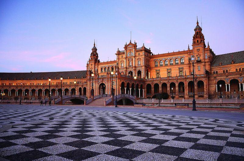 Sevilla Plaza de España Seville Sevilla Sevilla Spain Plaza De España Travel Destinations History Architecture No People