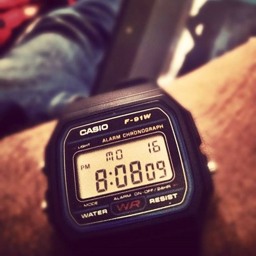 """Osama"" watch Casio F91w Oldisgold Watchfreak Watchporn F4follow F4F"