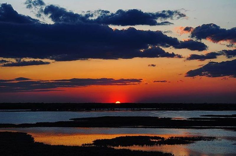 Sunset Horiconnationalwildliferefuge Horiconmarsh Wisconsinlife Wisconsin 5/7/2016