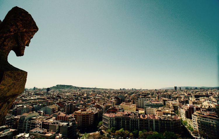 View the world Barcelona Church Scenics Clear Sky City Frist Eyeem Photos Shot Art ArtWork Church Of St SONY A7ii Leica Lens