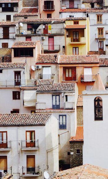 Residential Buildings In City