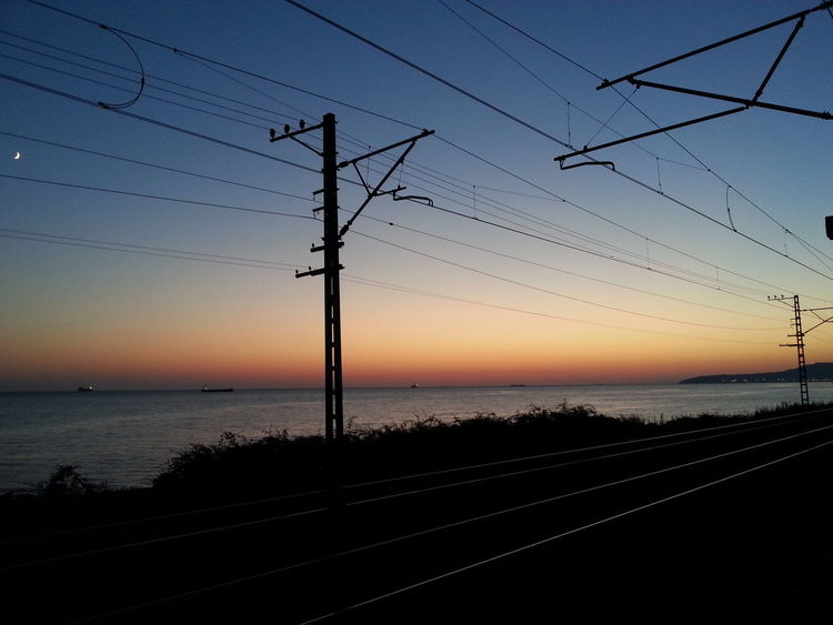 Sunset Russia Black Sea And Sky Without Filters ISO 100 Feel The Journey First Eyeem Photo