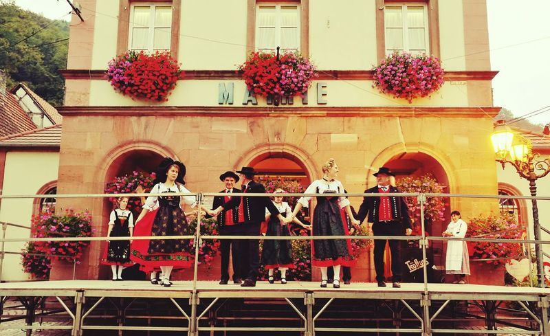 Alsace Life Alsace Alsace France Alsacia Dance Traditional Culture Traditional Costume Travel Destinations Travel Traditional Architecture Day People