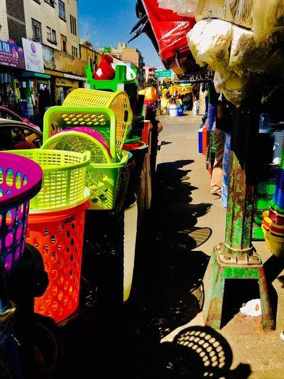 San pablo Plasticos Colores Mexico San Pablo Cdmx Multi Colored Outdoors Day No People