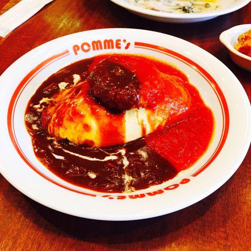 オムライス in Japan. Food Porn Awards