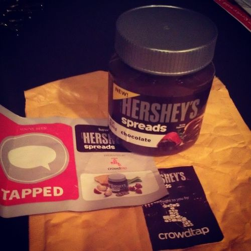 freebies in the mail? yes, please.thanks for sending this. Hersheys Crowdtap Spreadpossibilities