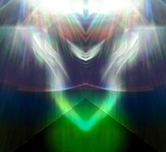 Playing With Light Taking Photos Edit Junkie Showcase: January Pyramid Of The Sun Pyramid Hologram Colors Lights And Shadows Capture The Moment Aliens Have Landed! Abstract Art