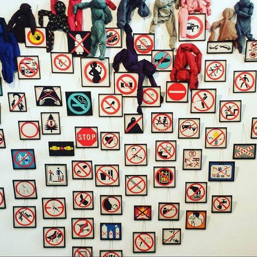 ANNETTE MESSAGER - Calais  Beauxarts Art Prohibition World Exhibition Dessusdessous Annettemessager